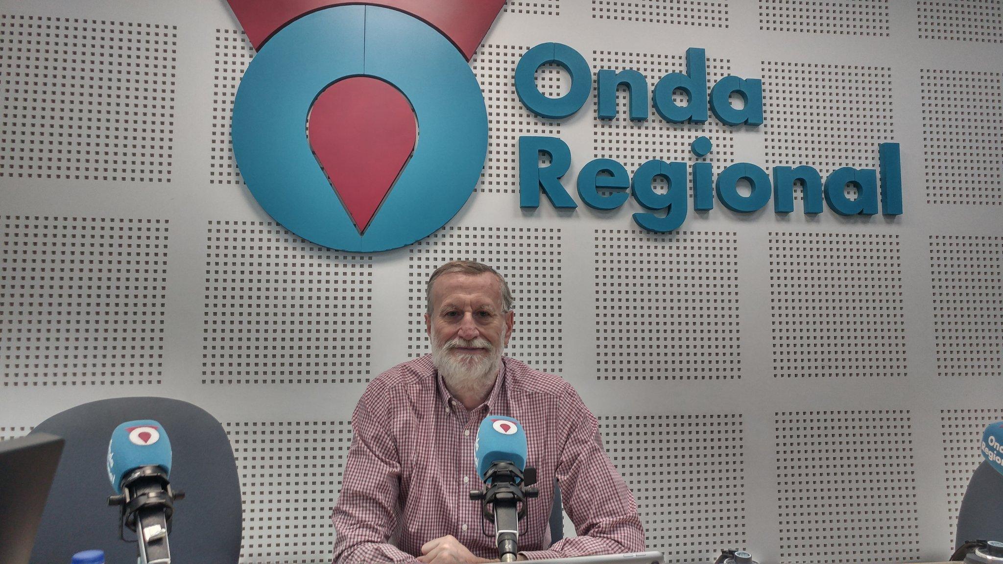 Juan Carmelo Gómez, presidente de la Academia de Ciencias de la Región de Murcia