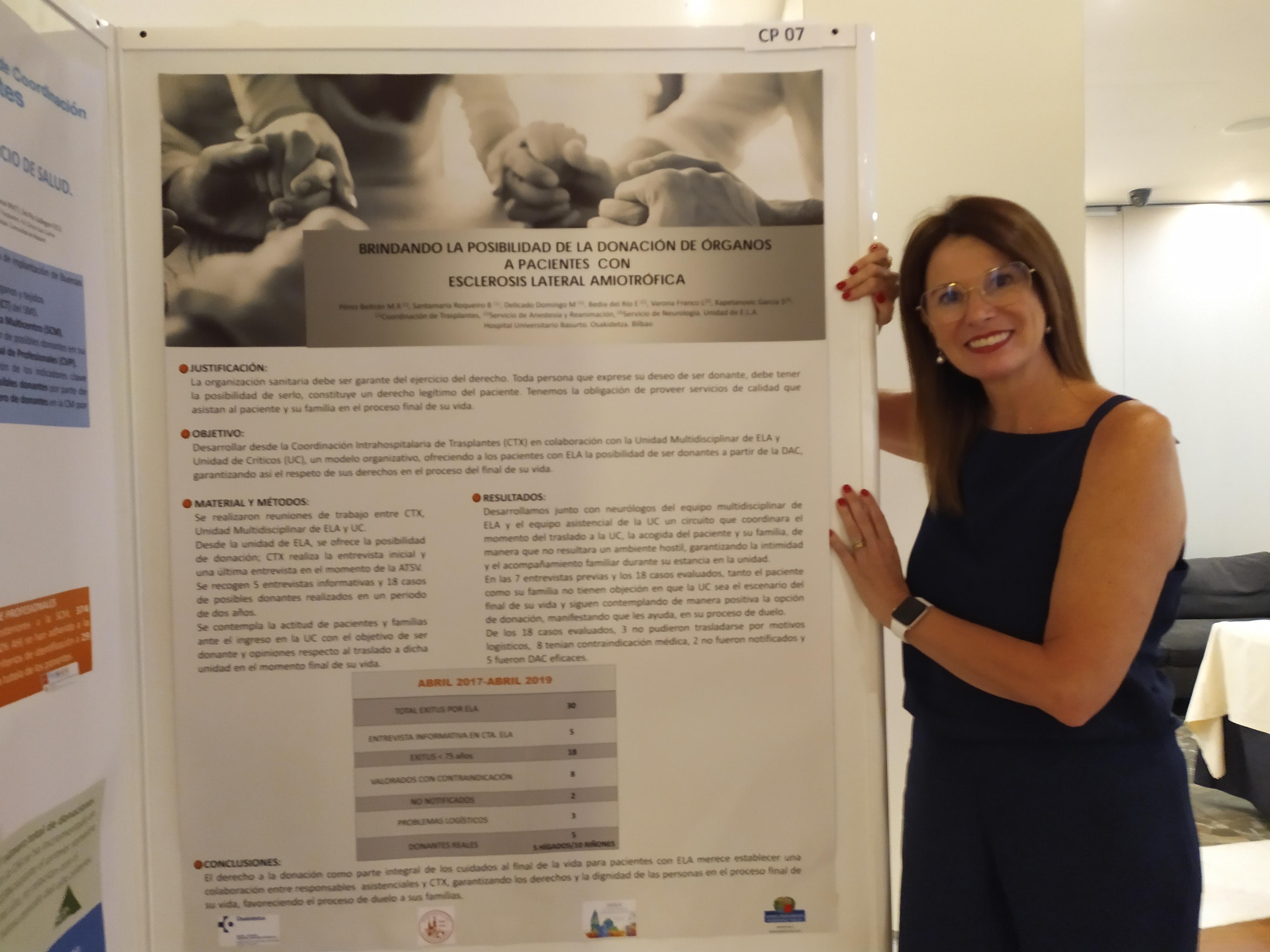Rosario Pérez Beltrán, del hospital de Basurto (Bilbao)