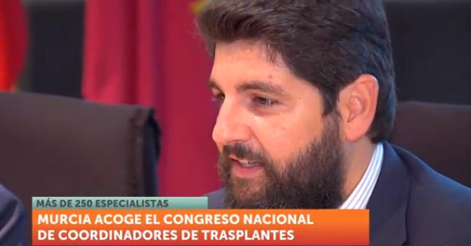 López Miras en la inauguración del congreso.