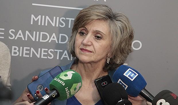 María Luisa Carcedo, ministra de Sanidad en funciones.