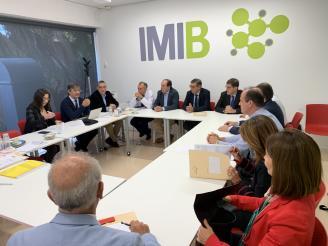 Reunión IMIB con los auditores del Carlos III