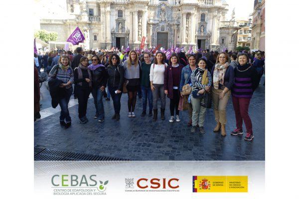 La huella de Margarita Salas en el CEBAS-CSIC